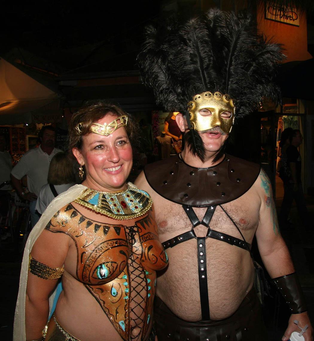 Fantasy Fest 2010 nackt